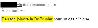 Wie komme ich zu Dr. Prunier?